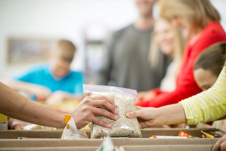 Houston Food Bank Mobile Food Pantry Texas Childrens Health Plan