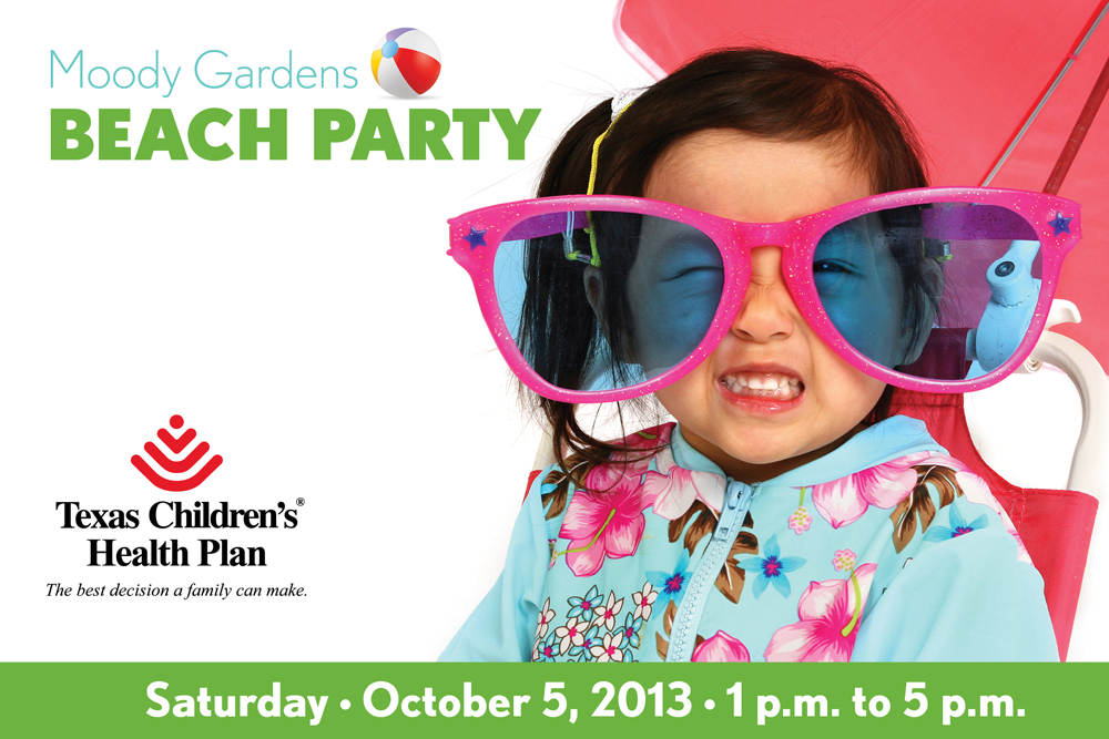 Moody Gardens Beach Party Member Event May 5th 2012 Texas Children 39 S Health Plan